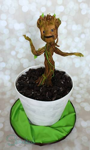 Baby Groot! - Cake by Stacked