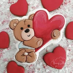 Bear love - Cake by Inny Tinny