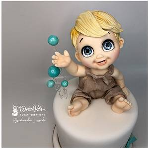 Soap bubbles...amazing - Cake by AppoBli Belinda Lucidi
