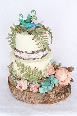 South African wedding cake - Cake by Anastasia Kaliazin