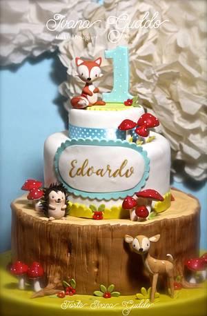 Woodland cake! - Cake by ivana guddo