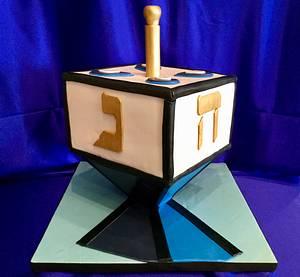 Dreidel  - Cake by The Elusive Cake Company