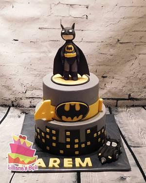 Batman cake - Cake by Liliana Vega