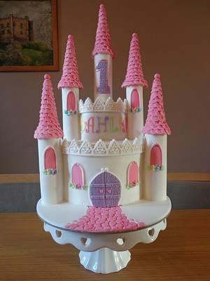 Castle cake - Cake by Zoe White