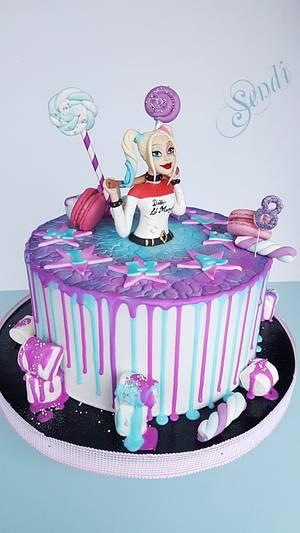 Harley Quinn - Cake by Sendi