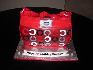 Coach Purse Cake - Cake by Kimberley Jemmott