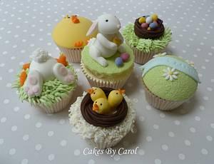 Easter Cupcakes - Cake by Carol