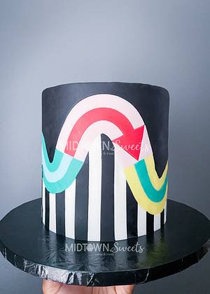 A Craig and Karl inspired cake - Cake by Midtown Sweets