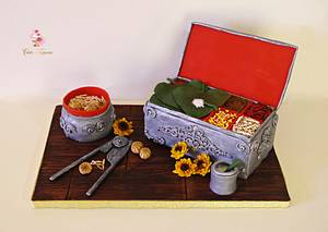 Magnificent Bangladesh- An international cake art collaboration - Cake by Tasnuta Cake Artistry ( TASNUTA ALAM)
