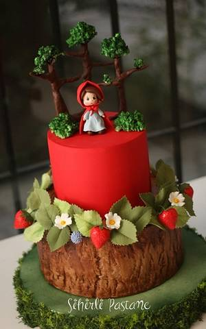 Little Red Riding Hood Cake - Cake by Sihirli Pastane