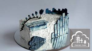 Rustic Blue - Cake by PUDING FARM