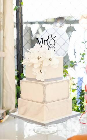 Wedding cake  - Cake by Olina Wolfs