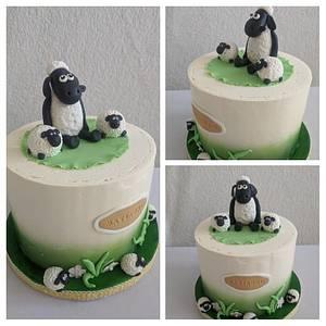 the seep Shaun - Cake by Anka
