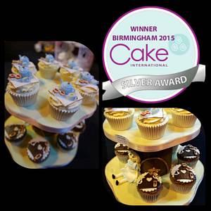 Vintage Alice - Silver Award  - Cake by JojosCupcakeMadness