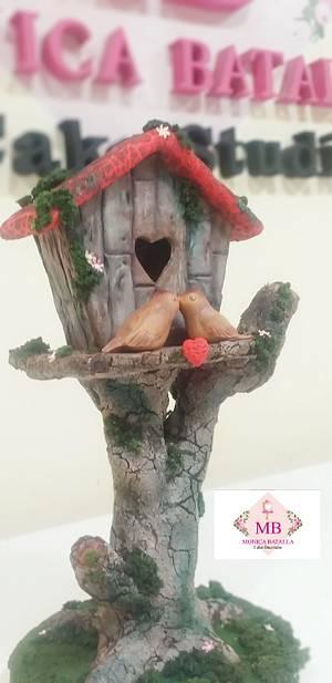 Sweet love - Cake by Monica Lilian Batalla