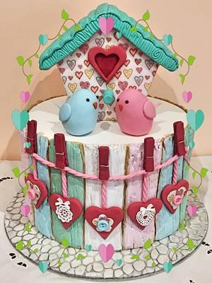 L♥️Ve....SWEET L♥️Ve - Cake by Lallacakes