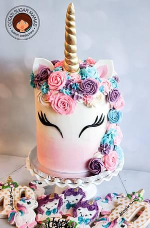 Unicorn Cake - Cake by Isabelle (Cotati Sugar Mamas)