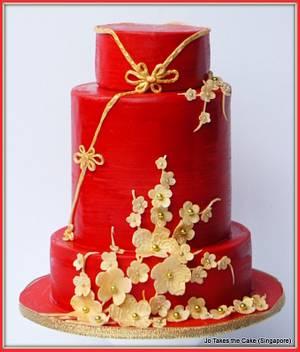 Gong Xi Fa Cai - Cake by Jo Finlayson (Jo Takes the Cake)
