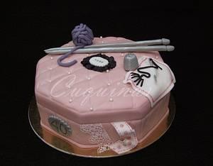Sewing box - Costurero - Cake by Gardenia (Galecuquis)