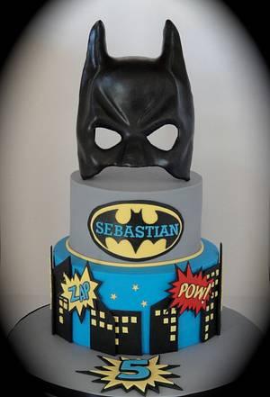 Batman Cake - Cake by Magical Cakes