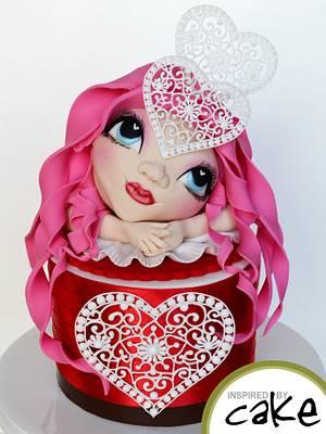 Valentine Dreamer - Cake by Inspired by Cake - Vanessa