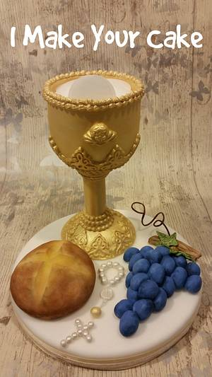 Topper First Communion - Cake by Sonia Parente