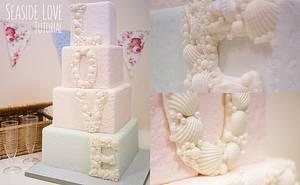Seashell Love Wedding Cake - Cake by Paul Bradford Sugarcraft School