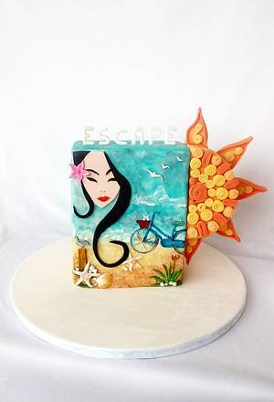 Sweet Summer Collaboration - Cake by Minna Abraham
