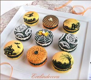 Halloween cookies - Cake by Evelindecora