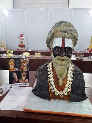 Decorated Cake Exhibit :Theme India :Aghori Baba  - Cake by Sheetal chourasia