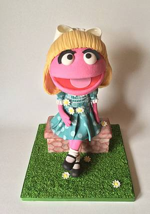 Prairie Dawn - Sesame Street 50 years - Cake by Sugar Art by Linda