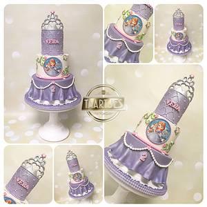Princess Sophia  - Cake by Taartjes Toko