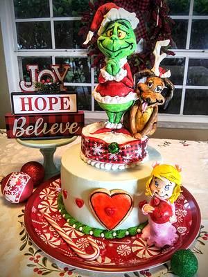 The Grinch  - Cake by Bethann Dubey