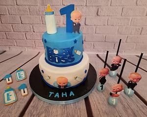 """Baby Boss Candy Bar"" - Cake by Noha Sami"