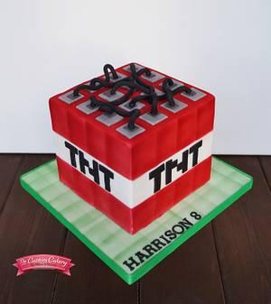 Minecraft TNT Block - Cake by The Custom Cakery