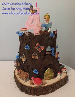 Fairy tree house cake - Cake by OhCrumbs