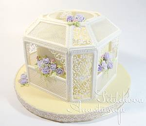 Delicate lace - Cake by Anastasia