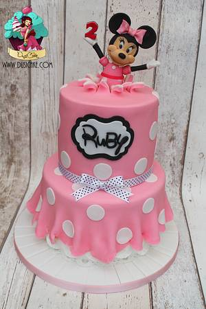 Minnie Mouse - Cake by DusiCake