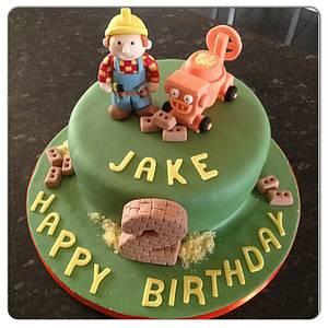 Bob the Builder & Dizzy cake - Cake by Janine Lister