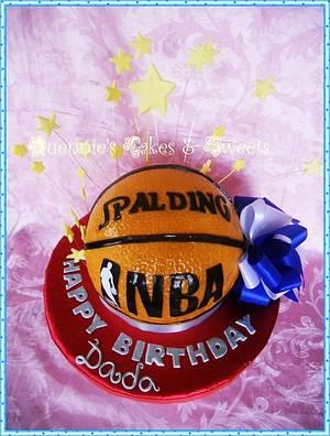 Basketball Cake - Cake by quennie