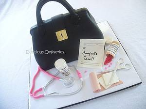 Medical Bag Cake - Cake by DeliciousDeliveries
