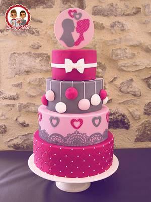 Pink Wedding - Cake by CAKE RÉVOL