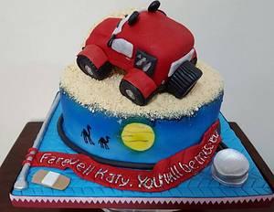 Farewell Cake - Cake by MariaStubbs
