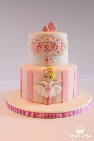 Ana ballerina  - Cake by Cupcake Delight