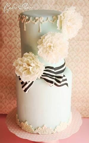 Peonies - Cake by Patrizia Greco