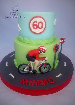 Bicycle cake - Cake by Mariana Frascella