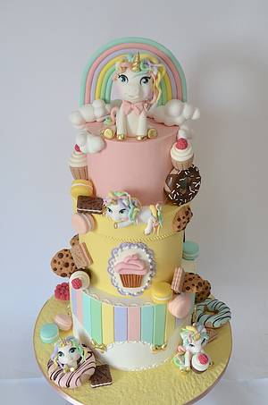 Unicorn party - Cake by Delice