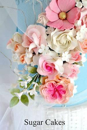 """Love Affair"" - Cake by Sugar Cakes"