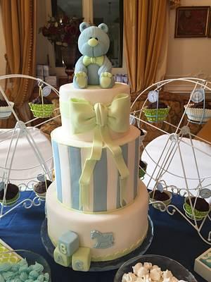 Birth bear cake - Cake by Micol Perugia