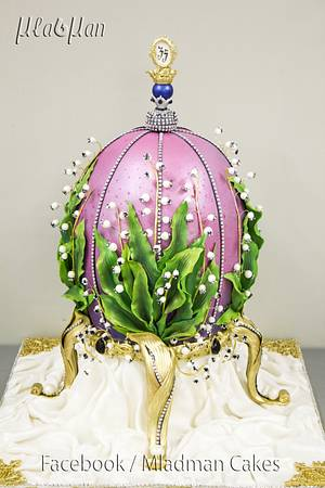Faberge Egg Cake by MLADMAN  - Cake by MLADMAN